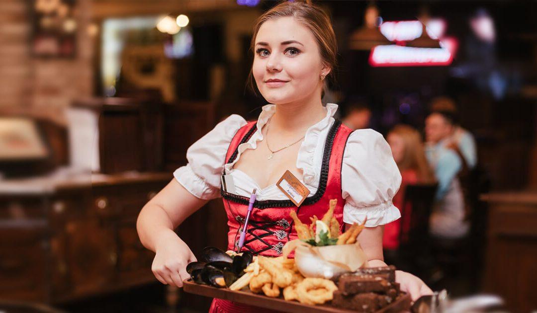 تعلم اللغة الروسية فى المطعم